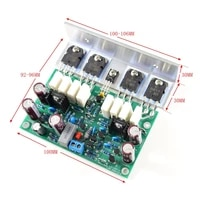l20 200w8r mono amp power amplifier finished board with angle aluminum by ljm