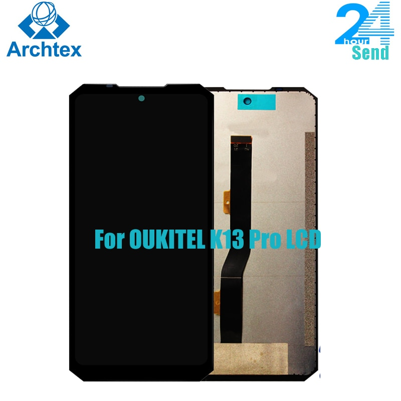For Original OUKITEL K13 Pro LCD Display+Touch Screen Digitizer Assembly LCD+Touch Digitizer 6.41