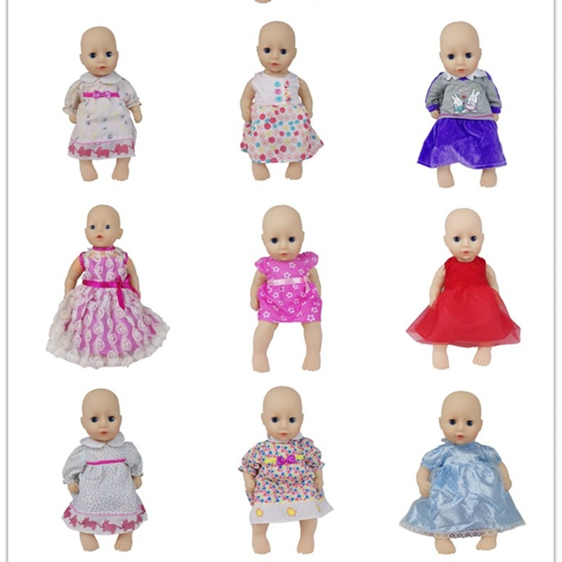 New Lovele Dress Doll clothes Wear fit for 36cm Baby Doll, Doll accessories Children best Birthday G