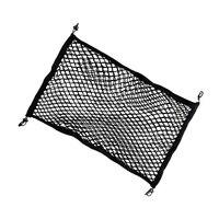Car Rear Trunk Floor Cargo Net Mesh Luggage Elastic Hook Flat Nylon Car Accessories for Toyota RAV4 2013-2018