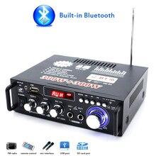 Amplificateur de puissance dorigine Audio Bluetooth haut-parleur amplificateur maison voiture USB u-disk FM Radio Subwoofer Mini amplificateur professionnel