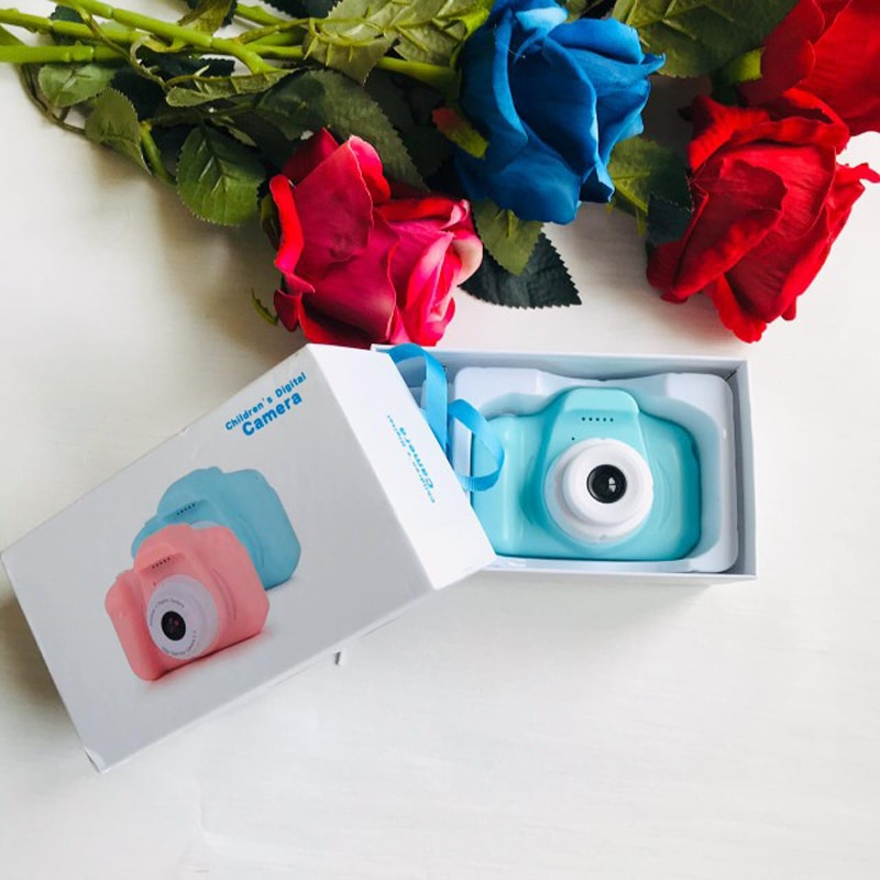 Appareil photo numérique pour enfants jouets pour enfants cadeaux danniversaire Mini 1080P Projection caméras vidéo bébé filles garçons cadeau de noël