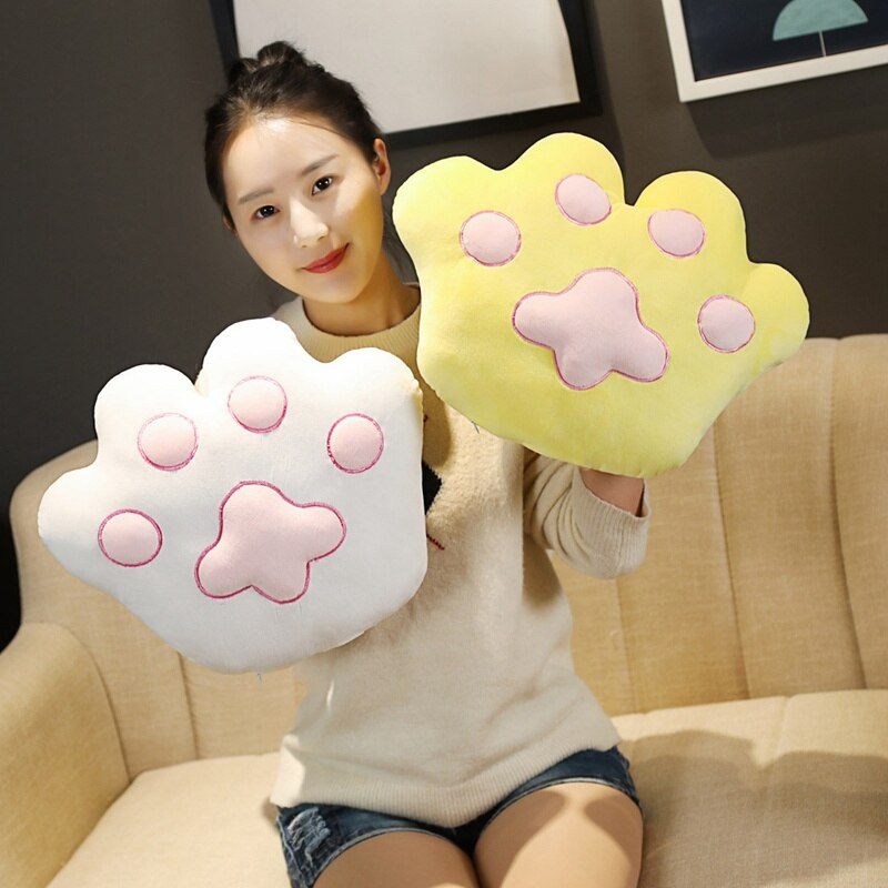 Korea Lamb almohada plegable oso de peluche Animal relleno juguete simulación oveja cambiable silla para muñecas cojín niños habitación decoración regalo