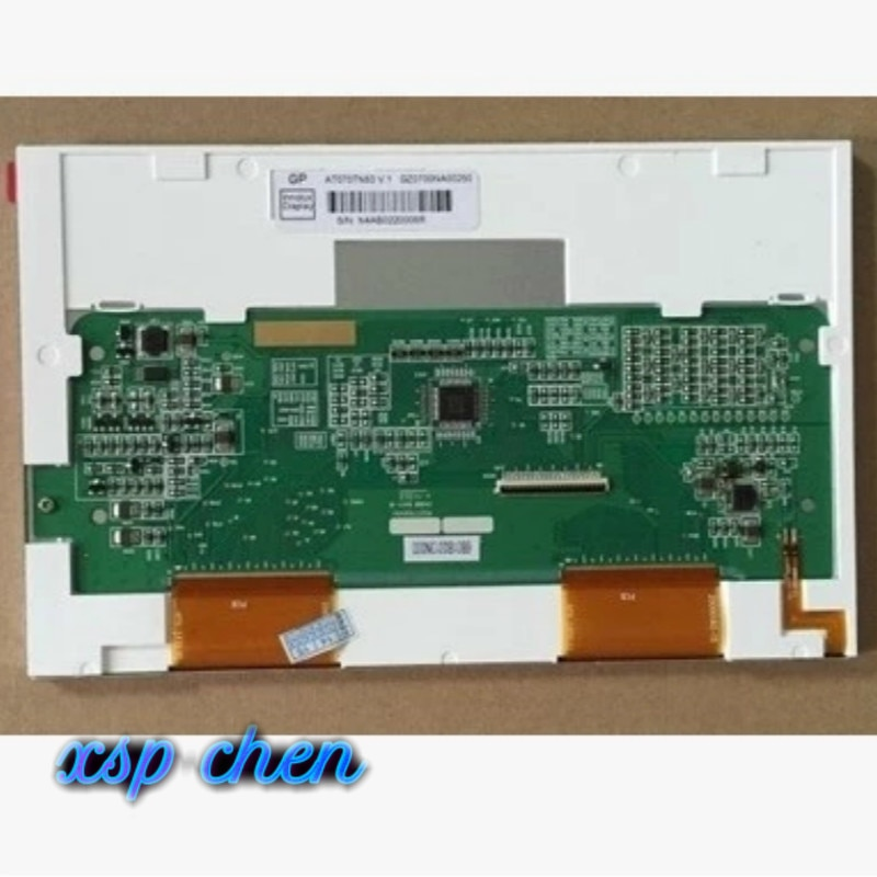 Ücretsiz kargo yeni Orijinal 7 inç TFT INNOLUX AT070TN83 V.1 AT070TN83-v1.0 40 Pin LCD Ekran panel modülü Denetleyici