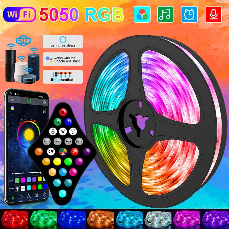 wifi-rgb-led-strip-light-5050-controller-bluetooth-smart-lucas-led-nastro-nastro-flessibile-luce-notturna-stringa-luminosa-per-camera-da-letto