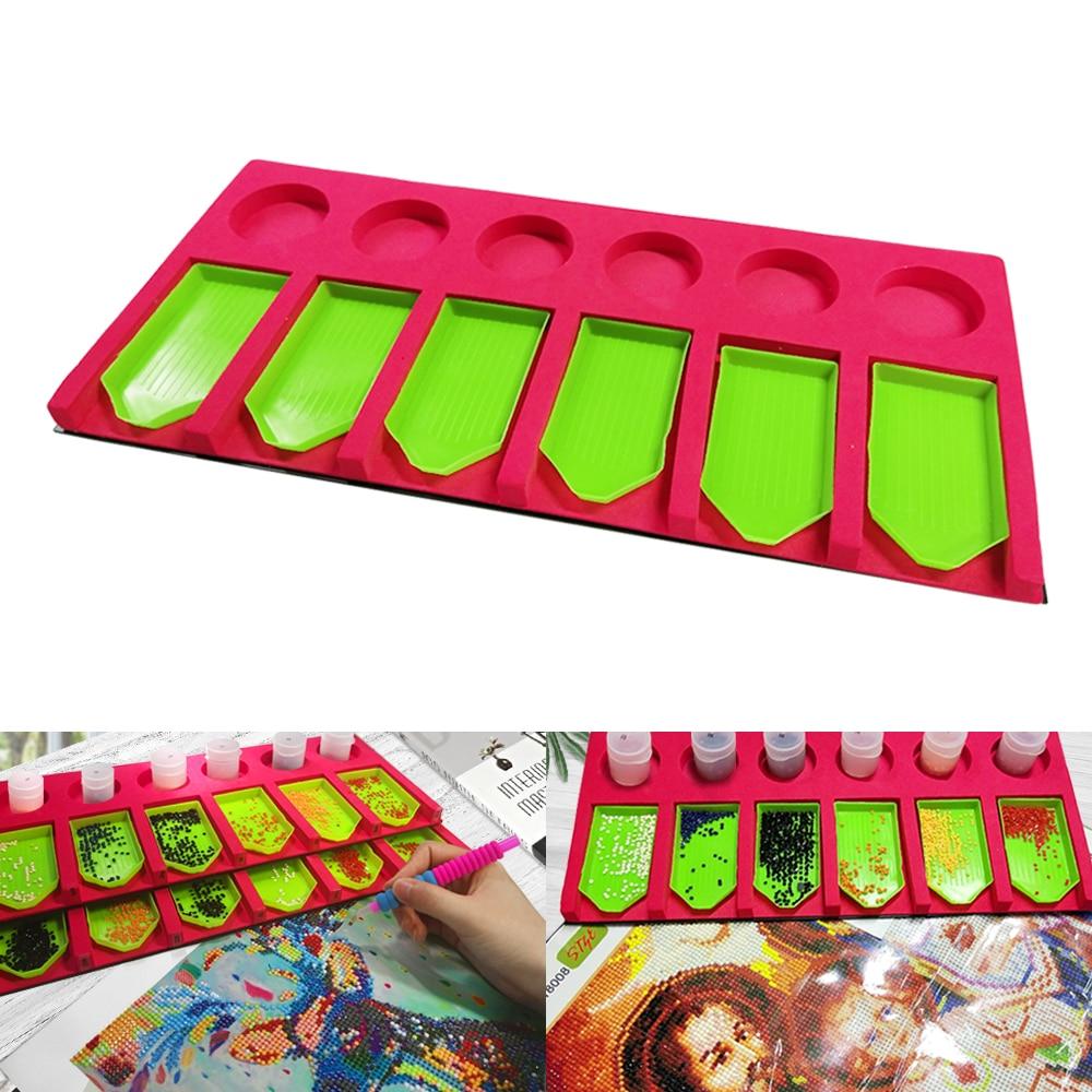 Diamond Painting Tray Organizer Holder DIY Diamond painting kits Painting with Diamand Accessory Christmas Gift