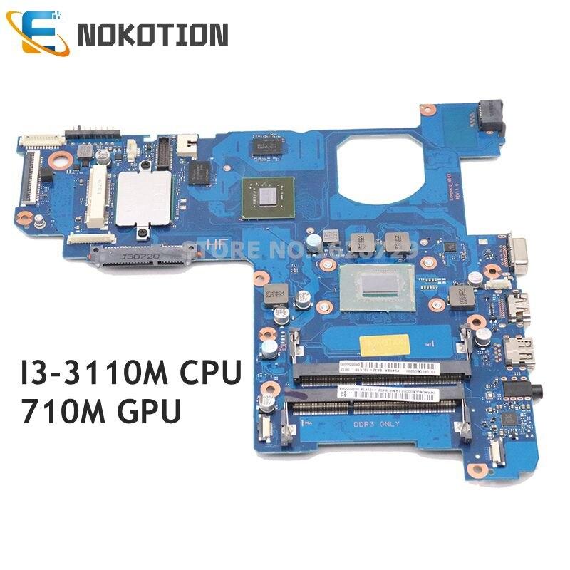 NOKOTION BA92-13741A BA92-13741B BA41-02243A For Samsung NP270 NP270E5E 270E5V Laptop motherboard I3-3110M CPU 710M GPU