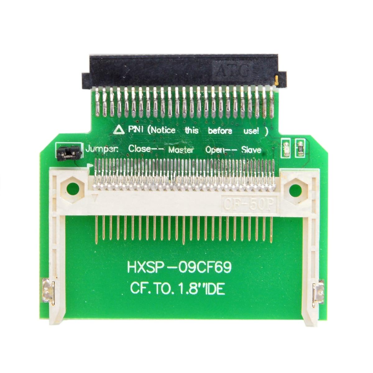 CY CF Compact Flash Merory Card to 50pin 1,8 дюймов IDE жесткий диск SSD конвертер адаптер для Toshiba