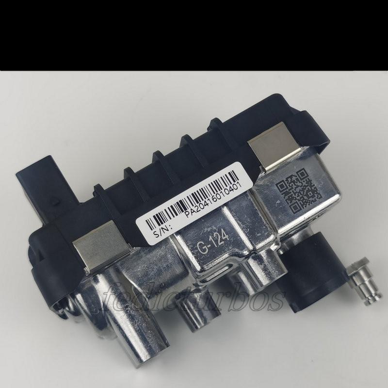 Turbo actuador electrónico G-124 730314 GT1852VK 755963 de 755964 para VW Touareg V10 R50 258Kw 350HP BLE R50 2007-2009 6NW 009 228
