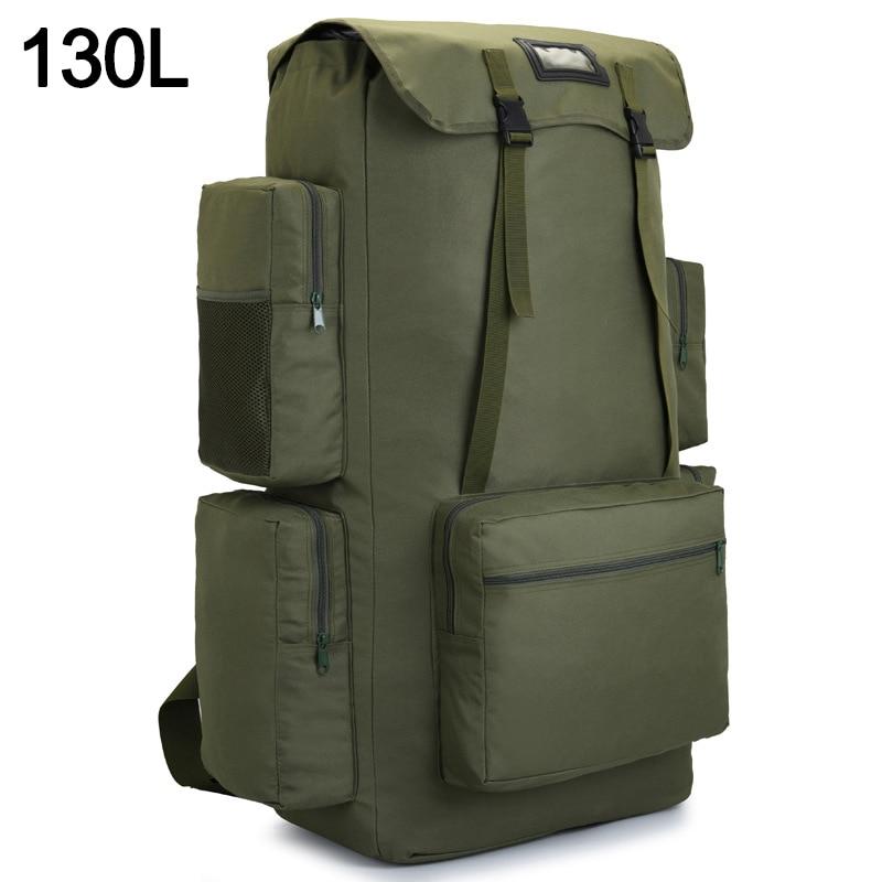 110L 130L Men Hiking Bag Camping Backpack Large Army Outdoor Climbing Trekking Travel Rucksack Tactical Bags Luggage Bag XA860WA