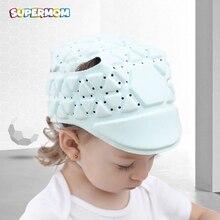 Sombrero de seguridad para bebé, casco de protección ajustable para niños, casco de seguridad para niños, sombrero suave de protección para caminar
