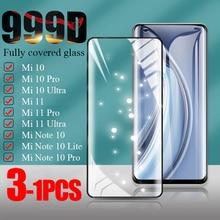 HD Tempered Glass For Xiaomi Mi 11 Pro Ultra Note 10 Lite Screen Protector Xiaomi Mi 10 10 Pro 10 Ul