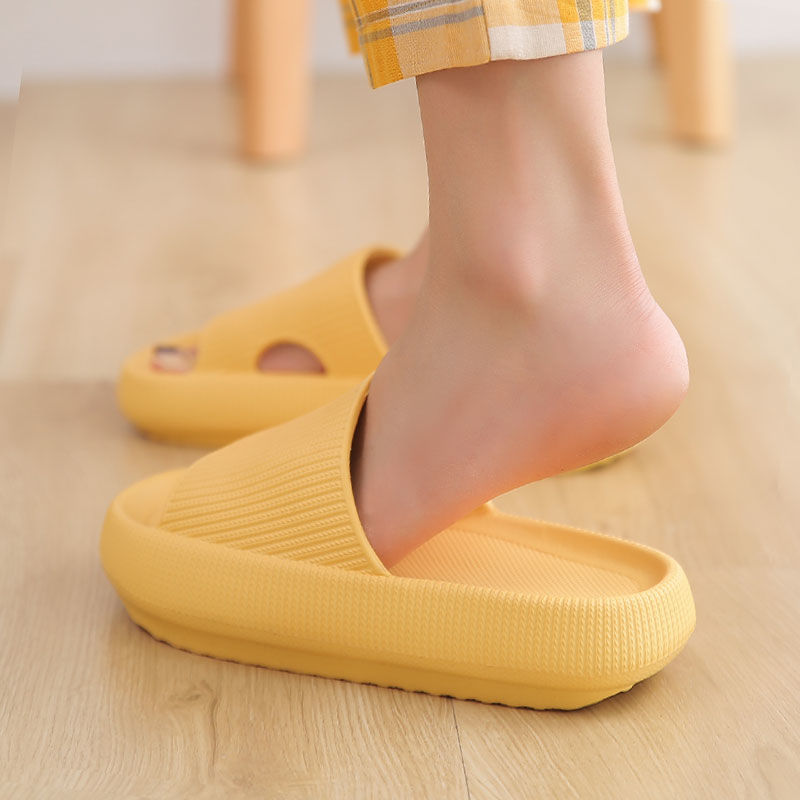 Thick Platform Slippers Women Indoor Bathroom Slipper Soft EVA Anti-slip Lovers Home Floor Slides Ladies Summer Shoes SH426
