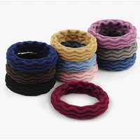 women girls simple basic elastic hair bands ties scrunchie ponytail holder rubber bands fashion headband hair accessories