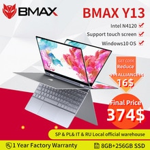 BMAX Y13 360 ° ordinateur portable 13,3 zoll ordinateur portable Windows 10 8GB LPDDR4 256GB SSD 1920*1080 IPS intel N4120 ordinateurs portables à écran tactile