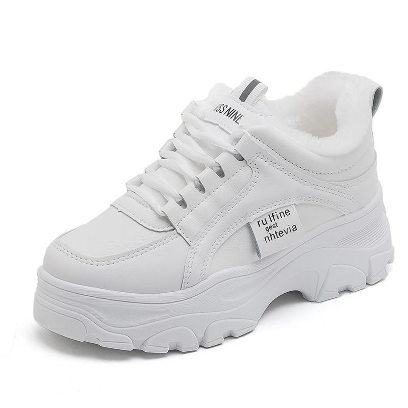 Zapatillas deportivas con plataforma y cordones para Mujer, Calzado Deportivo con plataforma...