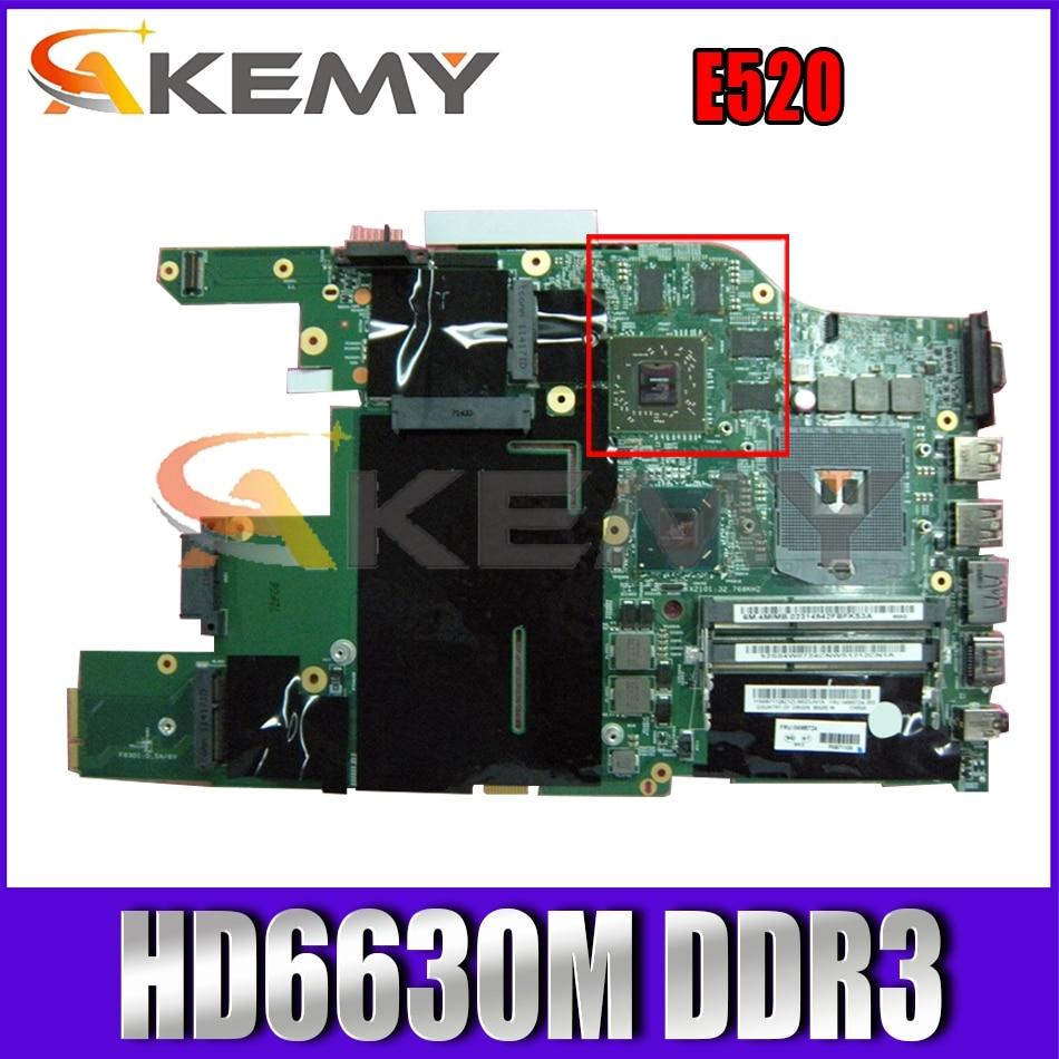 Akemy مناسبة لينوفو ثينك باد E520 اللوحة المحمول PGA988B HM65 GPU HD6630M DDR3 100% اختبار العمل