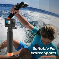 universal underwater waterproof hand grip case set removable submersible floating rod handle swim dive filming accessories