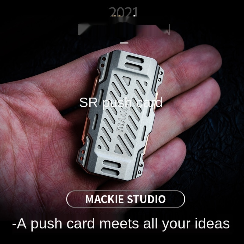 CP Push Brand Ppb Metal Sound Coin Magnetic EDC Adult Pressure Reduction Boring Artifact out of Print Mackey