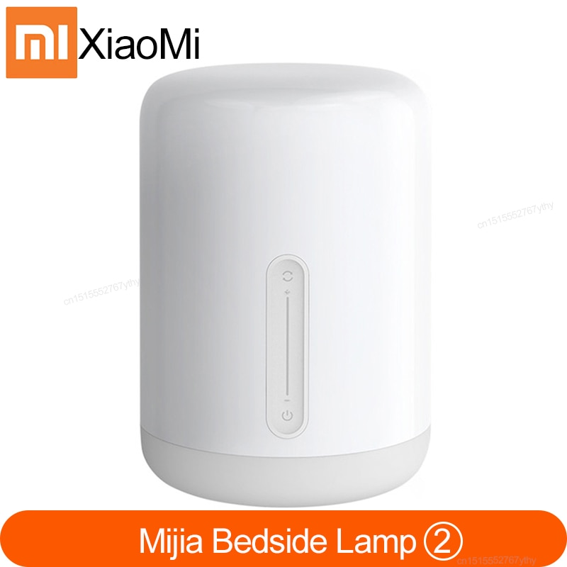 شاومي mi مصباح السرير 2 الذكية الجدول LED ليلة بلوتوث واي فاي لوحة اللمس التحكم mihome APP Led ضوء ل أبل HomeKit Siri