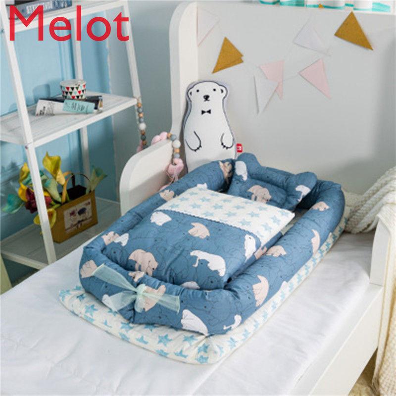 سرير الطفل الوليد طوي سرير محمول في سرير الطفل والرضع فراش Bionic BB سرير سفر صغير جودة عالية ودائم