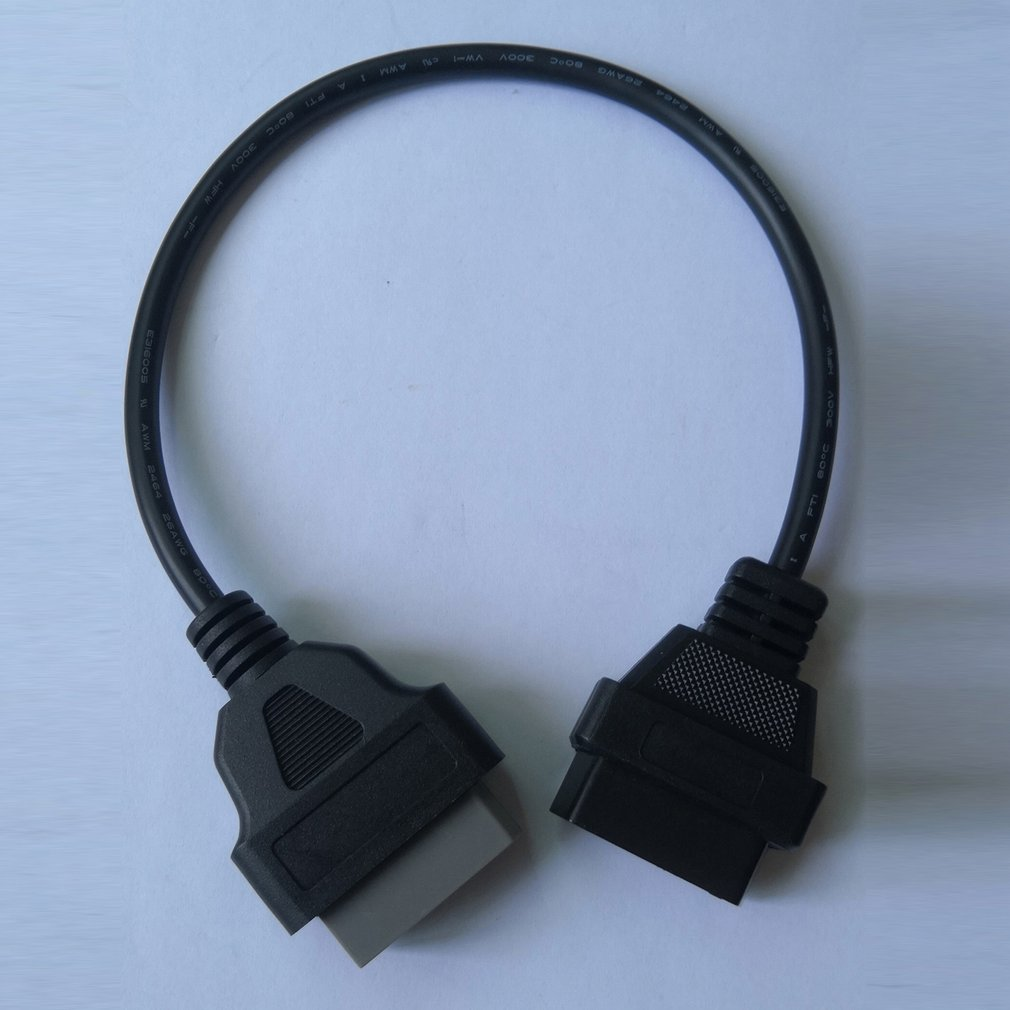 Eaglerich 14Pin к 16PIN OBD1 OBD2 кабель для Nissan OBD II диагностический интерфейс ELM327 сканер удлинитель адаптер Cor