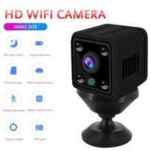 Экшн-камера с Wi-Fi подключением Камера Full HD 1080P проектор для домашнего безопасности видеокамера Ночное видение микро-камера с обнаружением д...