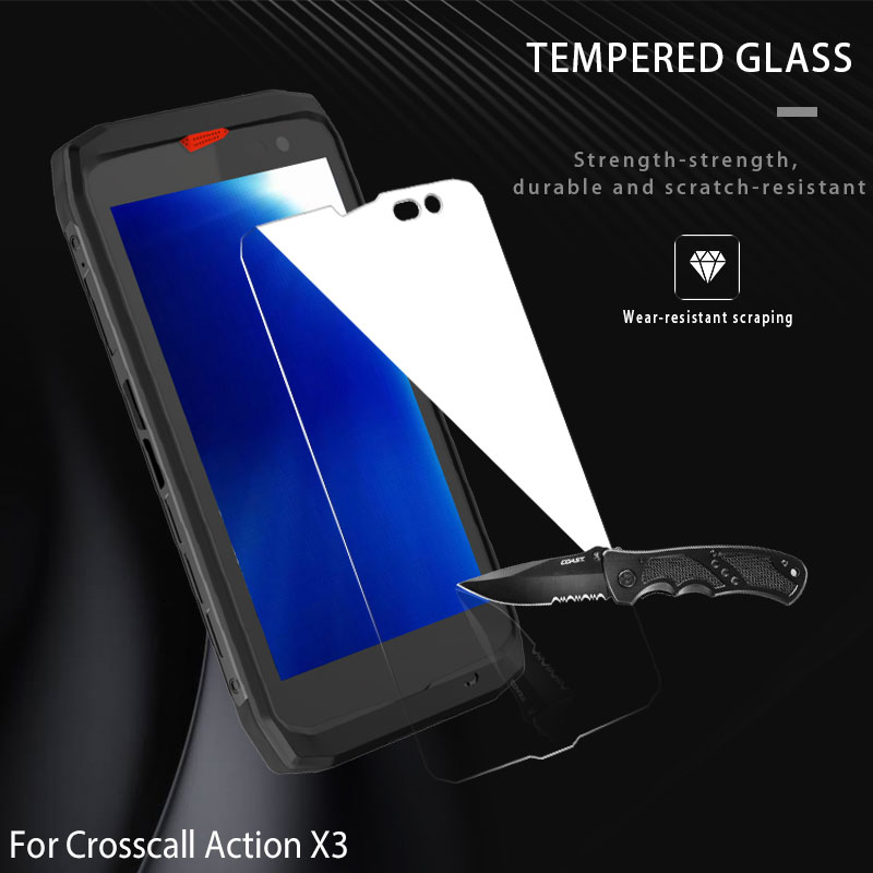 2pcs Tempered Glass for Crosscall Action X3 Screen Protector for Crosscall Action X 3  9H Hard Explo