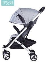 0-3 ans peut prendre lavion bébé poussette peut sasseoir inclinable ultra léger portable pliant enfant poussette bébé parapluie