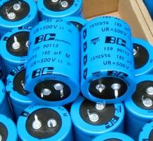 6pcs/lot 500V 180UF 30*40 180uf500v 30X40 beautiful sound high pressure electrolysis long life