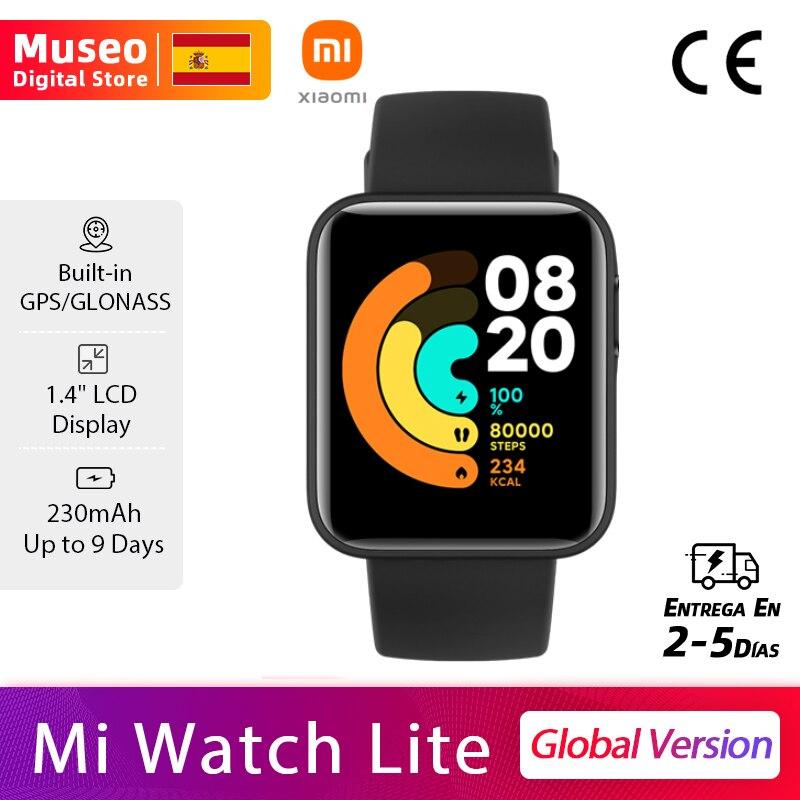 Xiaomi Mi Watch Lite GPS Fitness Tracker Heart Rate Monitor Sport Smartwatch 1.4 Inch Bluetooth 5.0 Redmi Watch Global Version