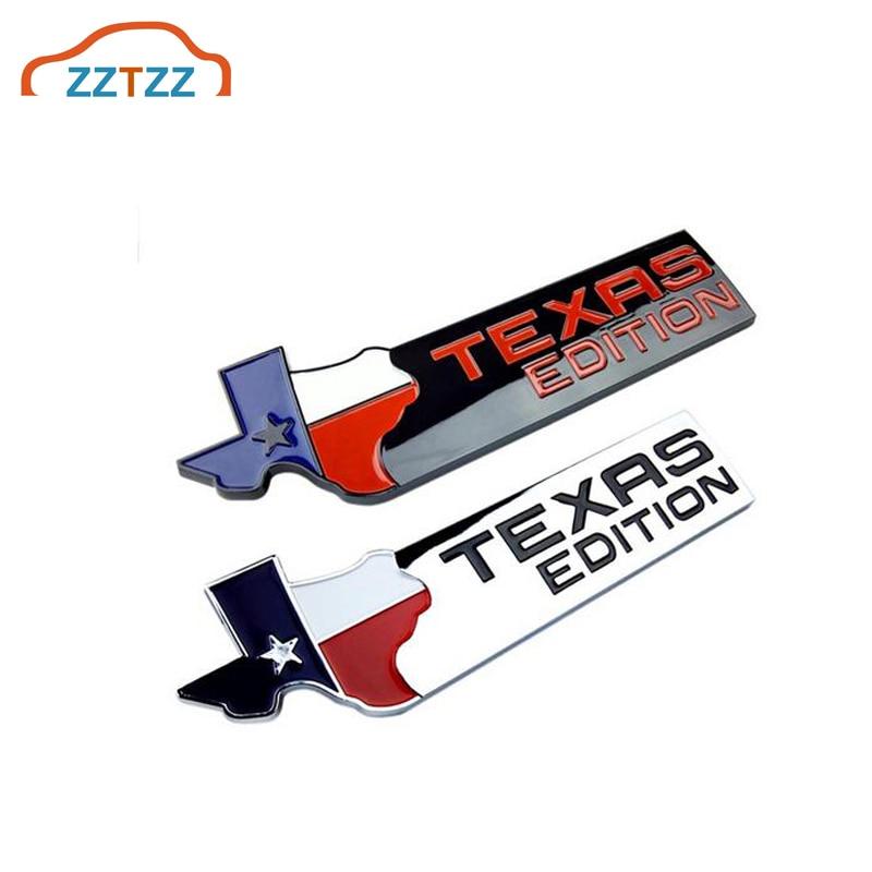 3D Abs TEXAS édition voiture autocollant emblème Badge pour voitures universelles moto accessoires décoratifs