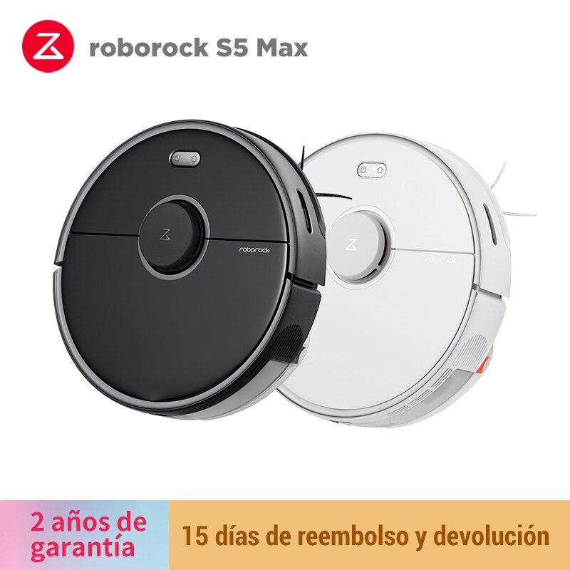 (Plaza) nowa wersja Roborock S5 Max Upgrade robot-odkurzacz odkurzacz czyszczenie wewnętrzne kontrola aplikacji Mijia
