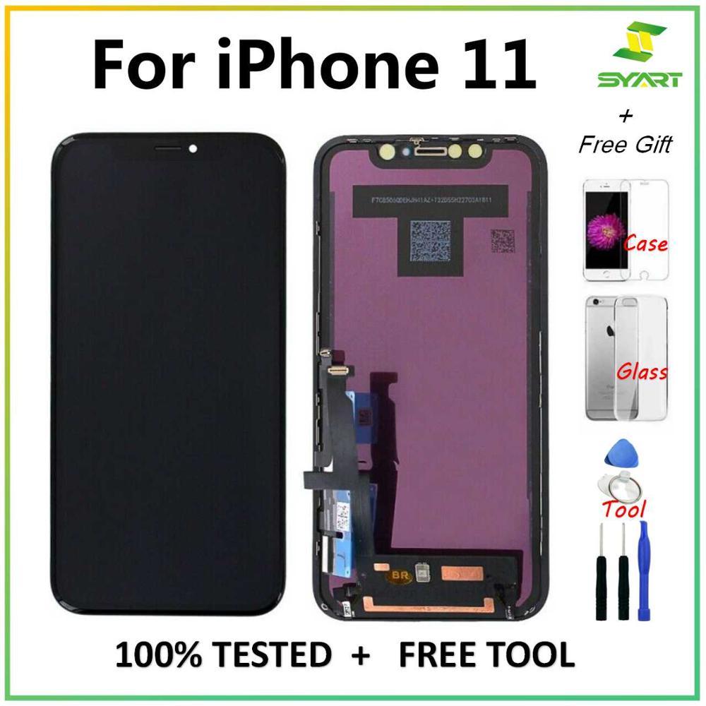 Pantalla para iPhone X 11 11 pro 11pro Max LCDDisplay Touch pantalla digitalizador asamblea para iPhone11 X XS X OLED OEM pantalla LCD