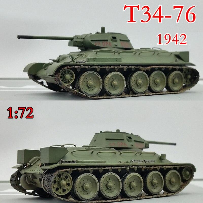 Trompetista 172 de la II Guerra Mundial soviética T34 / 76 medio tanque 1942 de 36264 del producto acabado modelo