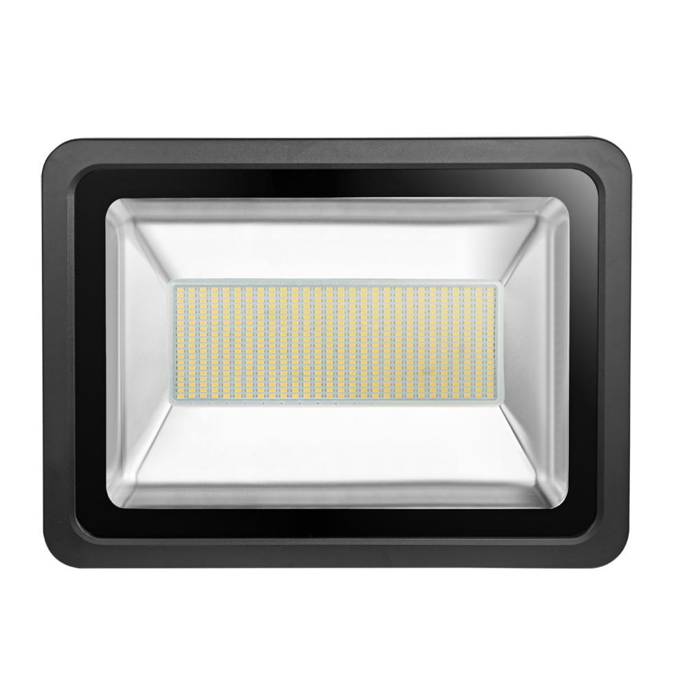 Luz de inundación LED IP65 impermeable al aire libre 300W 110V reflector LED reflector iluminación exterior lámpara de pared reflector 21000LM