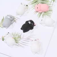 popit fidget toys kawaii squishies mochi cate cute mochi squishy toys for kids antistress ball stress relief squeeze stretchy