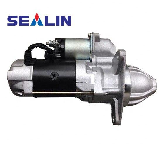 Motor de arranque para Hino EM100 EP100 EL100 EF300 EF700 EF550 EF750 EK200 M10U DS50 281001770, 281001780, 03507020230, 03506020110