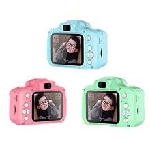 Mini Kids Digital Camera 2.0 Inch LCD Camcorder 2 Million Pixels 4x Zoom Child Girl Boy Birthday Gif