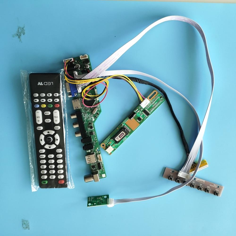 "Para LP154W02-B1K4/B1K5 módulo TV AV placa controladora placa madre 30pin 1 lámparas 15,4 ""Resolución de señal Digital 1680 × 1050"