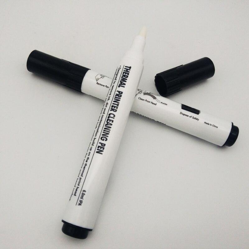 Vilaxh 5 Pcs Testina di Stampa Della Testina di Stampa Penna di Pulizia Penna di Manutenzione per Stampante Termica Testa Penna di Pulizia