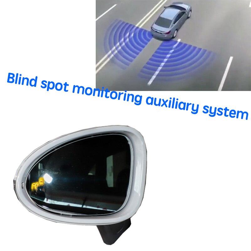 نظام BSD BSM BSA للسيارة نظام الكشف عن الرؤية الخلفية للرادار لبورش ماكان 95B 2014 ~ 2020