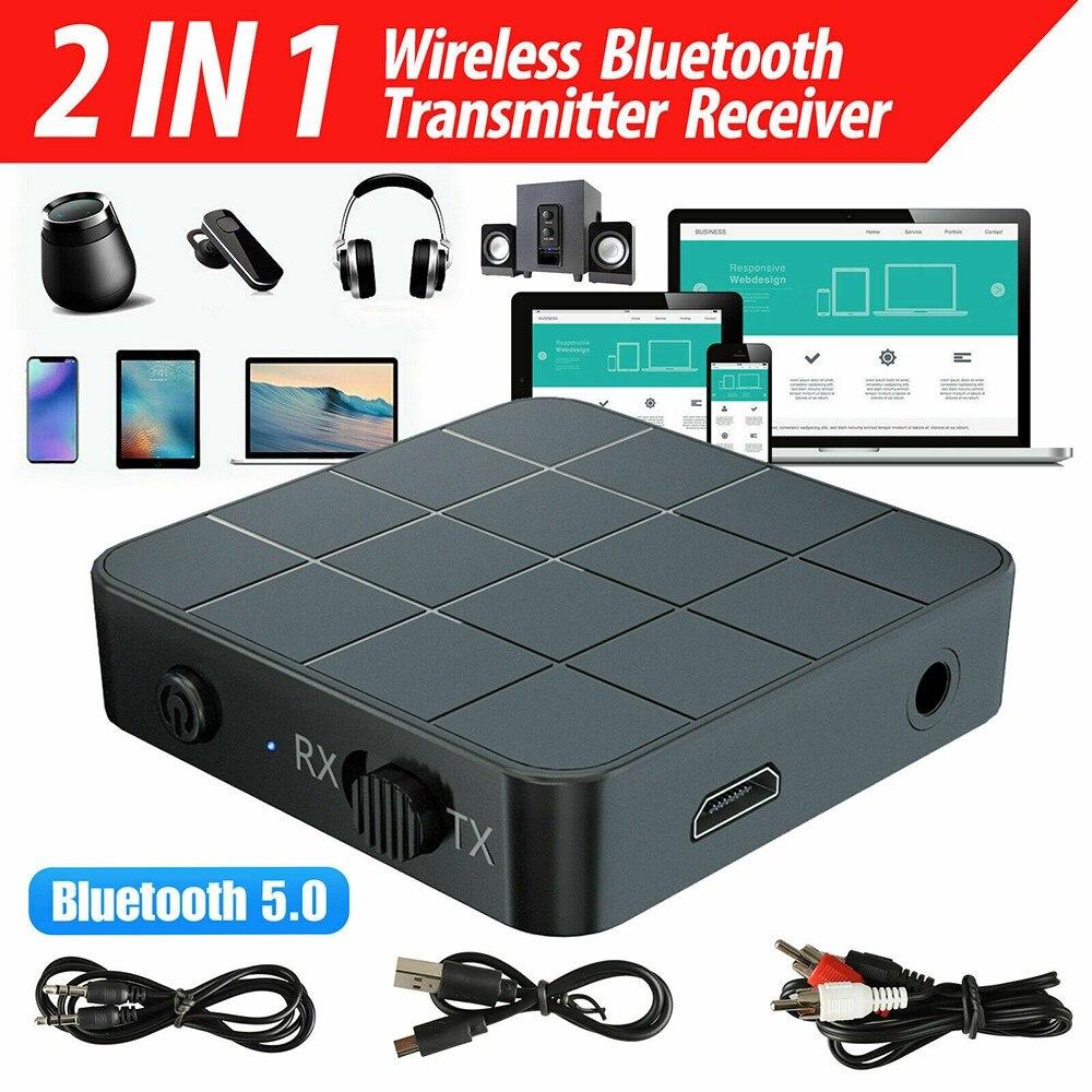 Bluetooth 5,0 аудио передатчик/приемник адаптер HIFI RCA до 3,5 мм Aux аудио адаптер для ТВ ПК автомобильный динамик