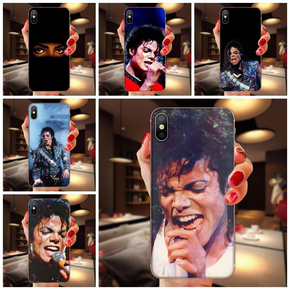 Michael Jackson suave del teléfono celular para Samsung Galaxy Note 5 8 9 S3 S4 S5 S6 S7 S8 S9 S10 5G mini Plus Lite