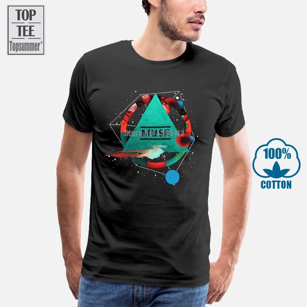 Muse pyramide noir t-shirt nouveau Showbiz officiel Absolution résistance 2Nd loi