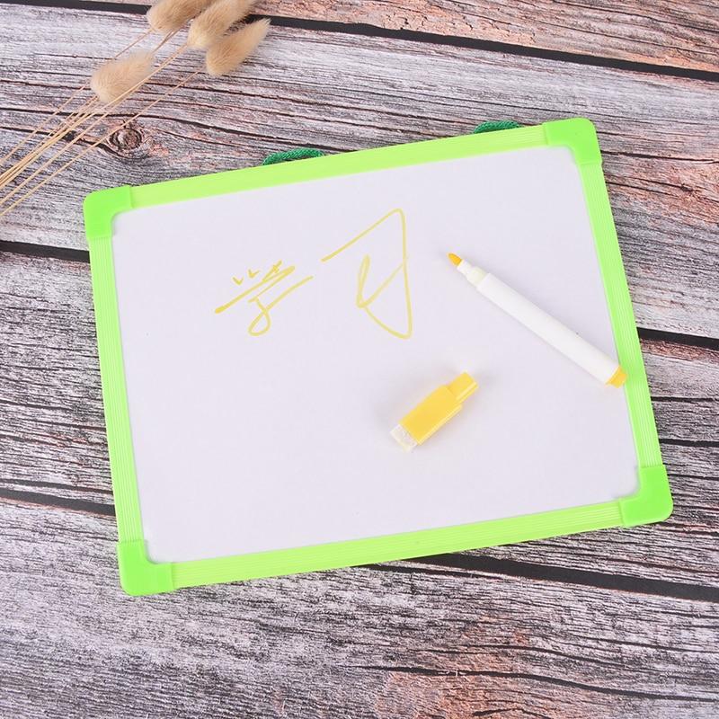 Новый доски протрите сухой доски мини доски для рисования мелких подвесная доска с маркер для белой доски для детей исследование подарки Цв...