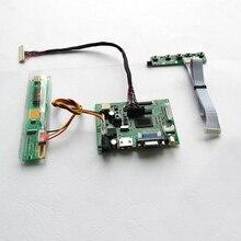 """Ajuste ltn154at01/ltn154at07/ltn154at10 15.4 """"1280*800 1 ccfl lvds laptops de 30 pinos monitor hdmi + vga + 2av placa controladora de tela kit"""