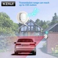 KERUI allee systemes dalarme maison intelligente etanche capteur de mouvement bienvenue sonnette voiture Garage dispositif de Signal de securite pour la maison