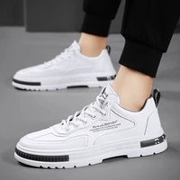 men shoes white autumn winter casual sneakers leather 2021 new fashion for mens spring male footwear black zapatillas hombre
