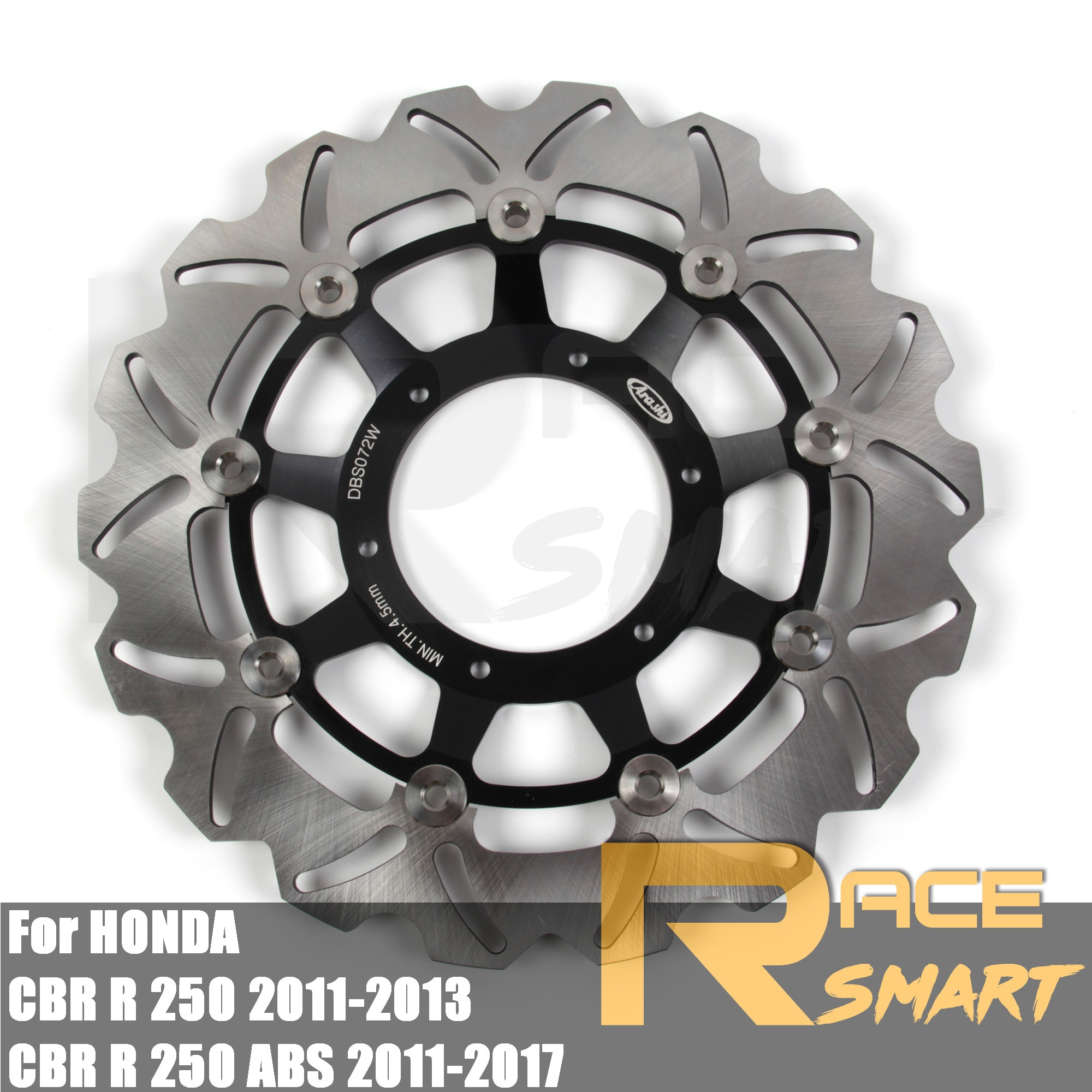 Para HONDA CBR R 250 ABS 2011-2017 2012 2014 2015 2016 motocicleta CNC freno delantero RotorBrake discos rotores CBR250R 2011-2013